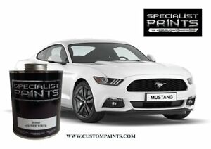 Ford Oxford White Paint Code Z1 Urethane Based Automotive Mustang