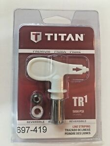 Titan 419 Tr1 Line Striping Tip 697 419 Or 697419 Painting Reversible New Tips