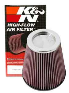 K n Rf 1041 Tapered Universal Air Filter 6 Flange Id X 7 5 Base X 7 5 Height