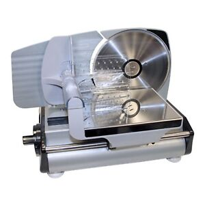 Deli Meat Slicer Electric Food Home Steel Machine Cheese Heavy Duty Professional