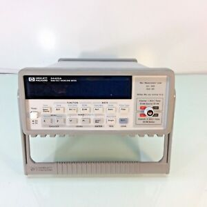 Hp Agilent Keysight 34420a Nanovolt Microohm Meter 7 5 Digit Tested