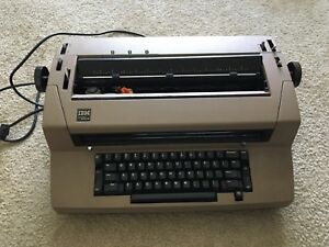 Vintage Ibm Selectric Iii Correcting Typewriter Manual And Original Dust Cover