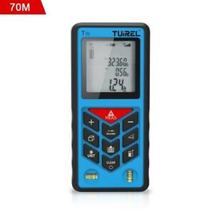 Laser Distance Measurer tuirel T70 Laser Tape Measure 70m 229ft 2755in