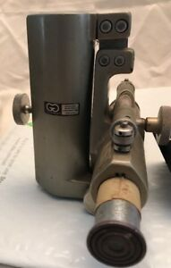 Vintage Gaertner Scientific Cathetometer Telescope Surveying Tool Steampunk Deco