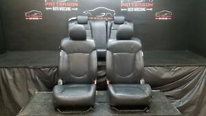 2011 Kia Forte Front Rear Bucket Seats Heated Leather Black Coupe