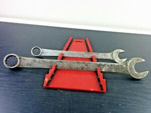 aa398 Vintage Blue Point 1 1 8 7 8 Wrenches Very Old