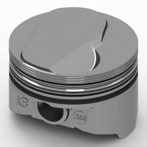 Kb Performance Pistons Keith Black Bbc Domed Piston Set 4 280 Bore 12cc