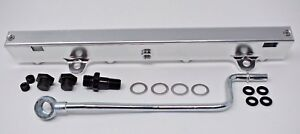 K series Billet Aluminum High Flow Fuel Rail K20 K24 2 0 2 4l Rsx Si Civic Kswap