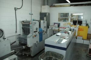 Ryobi Offset Printing Press