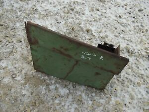 John Deere 420 W Tractor Original Jd Battery Panel Cover Door W Tool Box