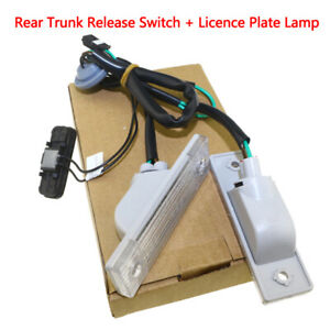 For 2012 Chevy Cruze 1 4l 1 8l Rear Trunk Release Switch Licence Plate Lamp