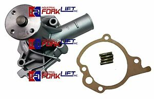 Cat mit clark Forklift 4g33 Engine Water Pump W gasket new part cl3768063