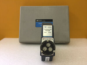 Hp Agilent 11602a Transistor Test Fixture Case For 8745a Test Sets Tested