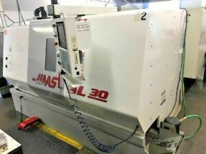 1999 Haas Sl 30 Cnc Turning Center Prototype Machine Under Power