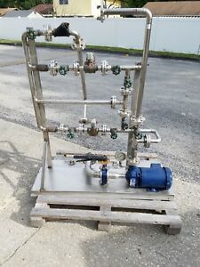 Stainless Steel Pump System With Motor