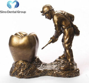 1 X Sino Dental Art Sculpture Dentistry Dentist Figurine Special Gift