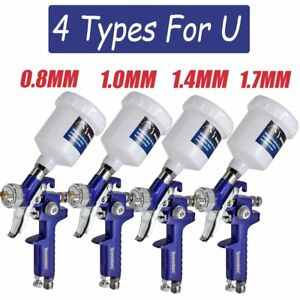 New Hvlp Air Paint Spray Gun Auto Car Detail Touch Up Sprayer Gravity Tools Vp