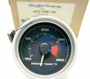 2005 2006 Ford Gt Gt40 Supercar Factory Temperature Gauge 4g7z 10883 aa 05 06