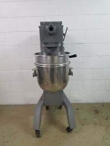 Univex M30 30qt Dough Mixer 115v Hook Bowl Tested