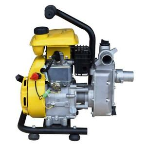 Portable Gas Powered Transfer Water Pump Home Farm Ranch Construction Industrial