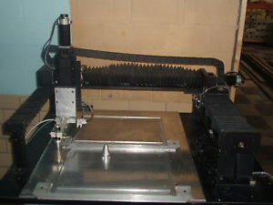 3 4 Axis Cnc Table Top Mill Laser Engraver Galil Amp 20540 Check Info