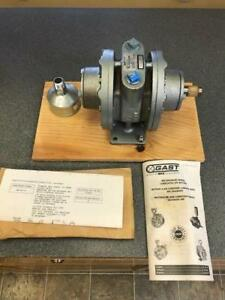 Gast 8am frv 75 Std156 Air Motor 5 Hp 175 Cfm 2500 Rpm B Rev new