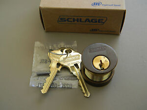 Schlage Everest 29 Mortise Cylinder Oil Rubbed Bronze New