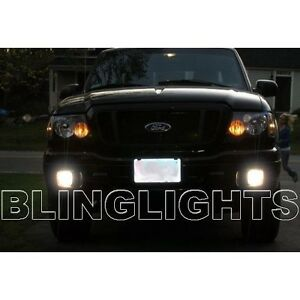 2004 2005 Ford Ranger Halo Fog Lamps Angel Eye Driving Lights Foglamps Foglights