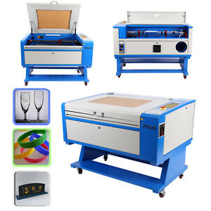 100w Co2 Laser Engraving Cutting Machine Usb Cutter 700x500mm High Precise