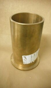 Flanged Bronze Bushing 660 Bronze 4 X 4 1 2 X 8