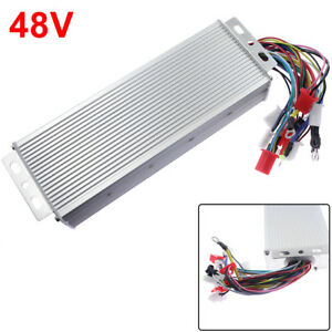 1x 48v 1500w Electric Bicycle E bike Scooter Brushless Dc Motor Speed Controller