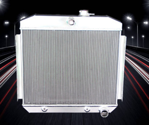 Cc5056 3 Rows Aluminum Radiator 1955 1956 Chevy Belair Bel Air 6cyl