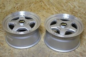 Bbs Rf 007 17x8 5 Et20 5x112 Mercedes R129 New Old Stock Nos Pair Bbs Rs Parts