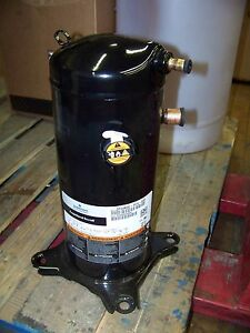 Emerson Copeland Scroll Compressor 208 230v 1ph 60hz 3ton R410a