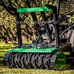 New Brush hound Fhx66 Defender Forestry Mulcher Attachment Bobcat Cat Skid Steer
