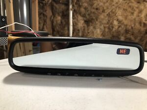 2004 2009 Toyota Prius Interior Rear View Mirror Auto Dim Compass