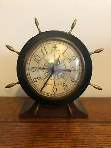 Antique Sessions Clock Working
