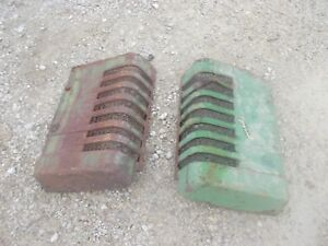 John Deere B Styled Tractor Orignl Jd Front Nose Cone Grill Hood Panel Panels B