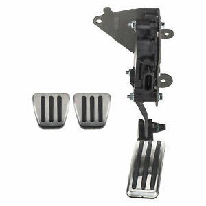 Oem New Accelerator And Brake Pedals Brushed Stainless Steel 09 14 Cts 19171865
