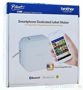 Brother P touch Cube Smartphone Dedicated Label Maker