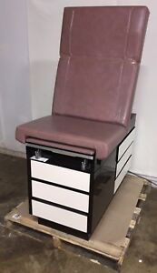 Ritter Midmark 104 Medical Exam Table Obgyn W Stirrups 5 Drawers
