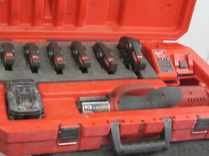 Milwaukee 18v 2673 20 Crimping Tool 6 Jaws