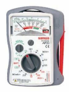 Sanwa Analog Multi Tester Multimeter Ap 33 From Japan F s With Tracking Number