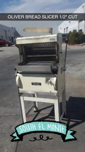Oliver Bread Slicer 1 2 Cut Safety Slicer 777 Used