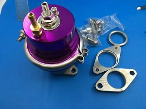 High Performance Purple Color Adjustable Universal 38mm External Wastegate hks