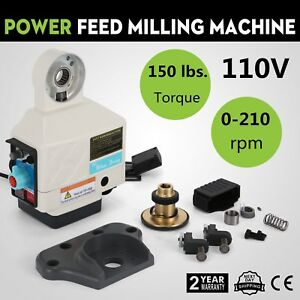 X Axis Power Feed Milling Feeding Device Vertical Milling Bridgeport Acer