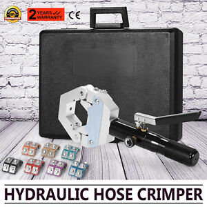 71500 A c Hydraulic Hose Crimper Tool Kit Hand Tool Crimping Set Hose Fittings