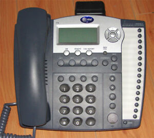 Att At t 974 4 line 4 Line Intercom Business Phone