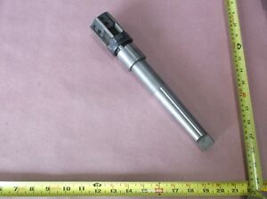 Cleveland Twist Drill No 7 8 Adjustable Blade Shell Reamer Morse Taper 4