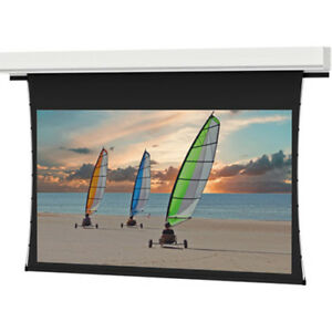 Da lite Tensioned Advantage Deluxe Electrol Electric Projection Screen 34614